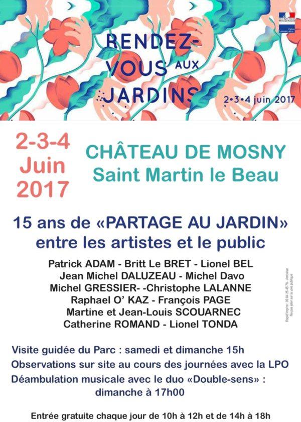 Exposition Britt le Bret - Château de Mosny - Saint Martin le Beau