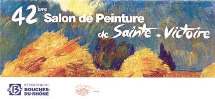 Exposition Britt le Bret - 42eme Salon de Peinture - Sainte Victoire