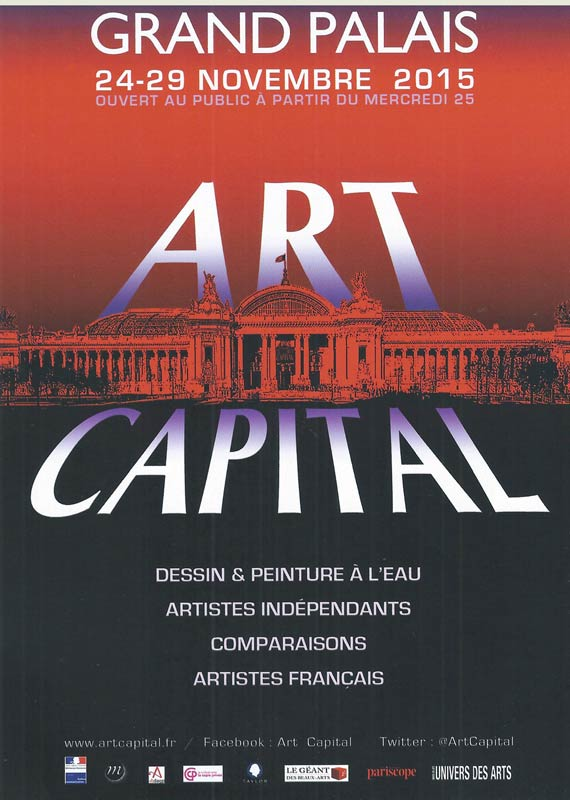 Exposition Britt le Bret - Art Capital - Grand Palais