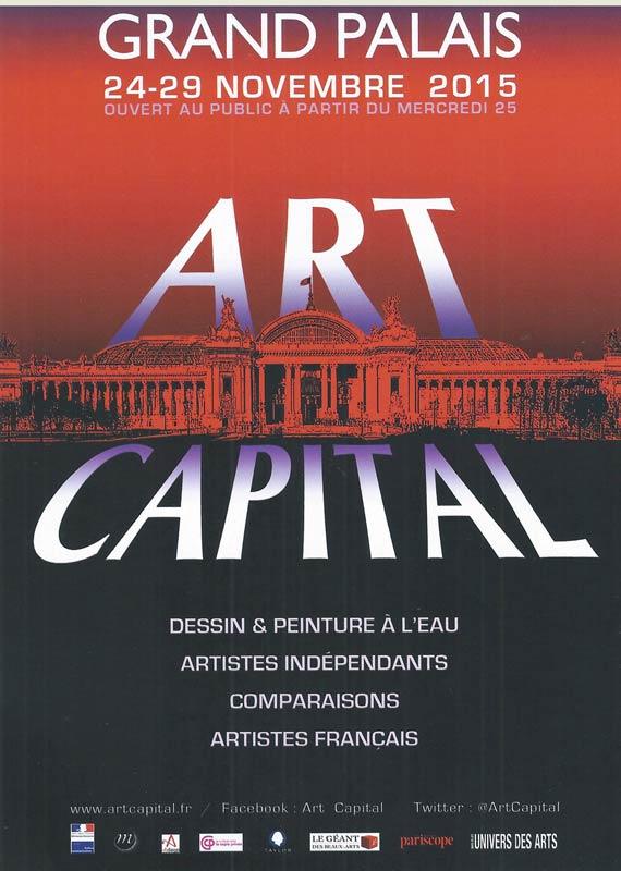 Exposition Britt le Bret - Art Capital - Grand Palais