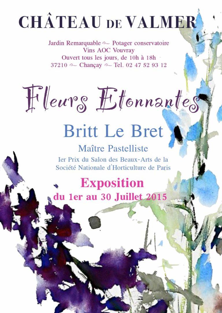Exposition Britt le Bret - Château de Vamer - Beaugency